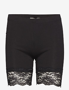 Matilda Biker Shorts - bottoms - pitch black