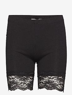 Matilda Biker Shorts - bottoms - pitch black