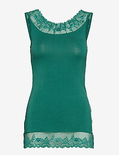 Florence Top - BOTTLE GREEN