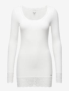 Vanessa L/S T-shirt - CHALK