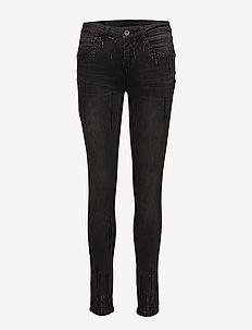 Sally Jeans - Shape fit - dżinsy skinny fit - dark grey denim