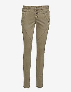 Mila Twill - Baiily fit - skinny jeans - khaki sand