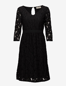 Faly Dress - PITCH BLACK