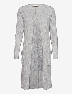 Mandy Cardigan - swetry rozpinane - light grey melange