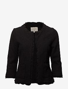 Nellie cardigan - blezery - pitch black