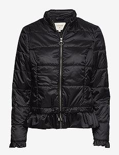 Crystal short Jacket - PITCH BLACK