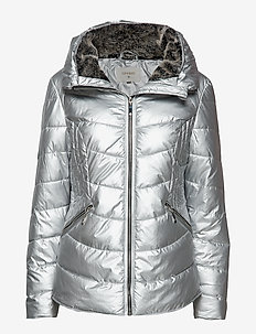 Cornelia Jacket - padded jackets - soft silver