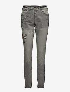 Bird jeans - Baiily fit - LIGHT LIGHT GREY DENIM