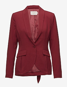 Abby Blazer - RED DAHLIA