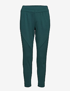 Anett pants 7/8 - spodnie proste - hunter green
