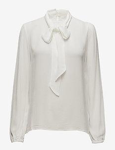 Bowie blouse - CHALK