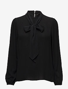 Bowie blouse - PITCH BLACK