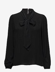 Bowie blouse - PITCH BLACK