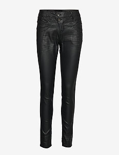 Corin coated jeans-baiily fit - PITCH BLACK