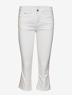 Lotte Twill - Shape fit - dżinsy skinny fit - chalk
