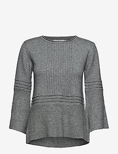 Liala Pullover - LIGHT GREY MELANGE