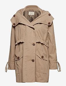 Helena coat - WET SAND