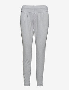 Beate pants - LIGHT GREY MELANGE