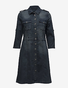 Uniform Dress - ROYAL NAVY BLUE