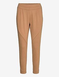 Anett Pants - slim fit spodnie - luxury camel