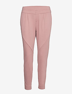 Anett Pants - slim fit bukser - old rose