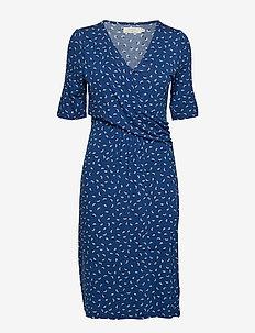 Alexa Dress - LIMOGES BLUE