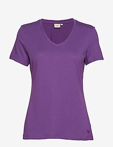 Naia T-shirt BCI - AMARANTH PURPLE