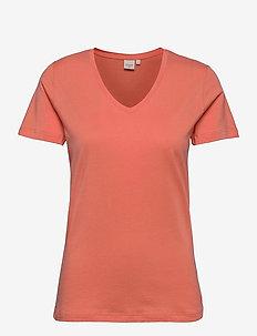 Naia T-shirt - t-shirty - peach echo