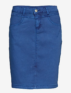 Amalie skirt - knee lgd. - LIMOGES BLUE