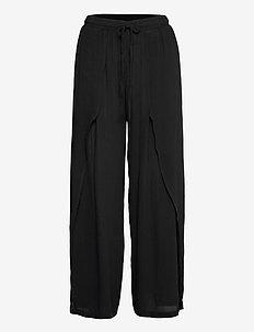 Allie Pants - spodnie na co dzień - pitch black