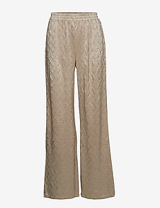 Shania pants - DULL GOLD