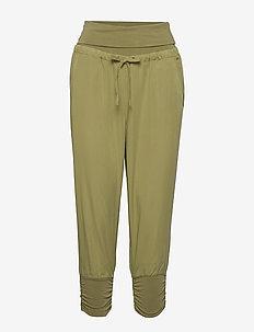 Line Pants - cedar green