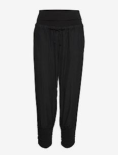Line Pants - spodnie na co dzień - solid black