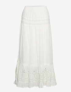 Claire Skirt - CHALK