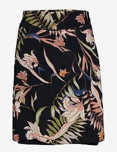 Leann Skirt - PITCH BLACK