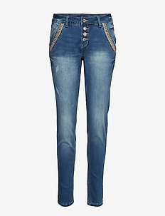 Dicte jeans Baiily fit - RICH BLUE DENIM