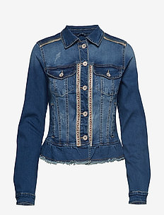 Casie Jacket - RICH BLUE DENIM