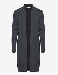 Amandine Knit Cardigan - swetry rozpinane - dark tradewinds