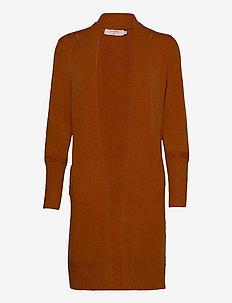 Amandine Knit Cardigan - swetry rozpinane - meerkat