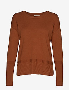 Amandine knit Pullover - BRONZED