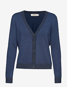 Simona Knit Cardigan - DARK DENIM