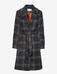 Chekia coat - PITCH BLACK