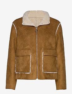 Scherly jacket - CAMEL