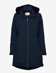 Avabella softshell jacket - DARK DENIM