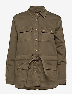 Cami Jog denim jacket - KHAKI