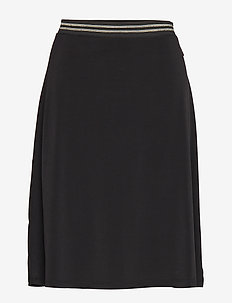 Omina Skirt - PITCH BLACK