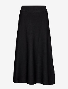Celina Skirt - PITCH BLACK