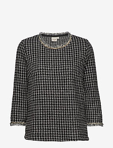 Caney blouse - PITCH BLACK