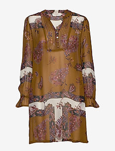 Flor tunic - BRONZED
