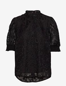 Godwina Shirt - BLACK DEEP